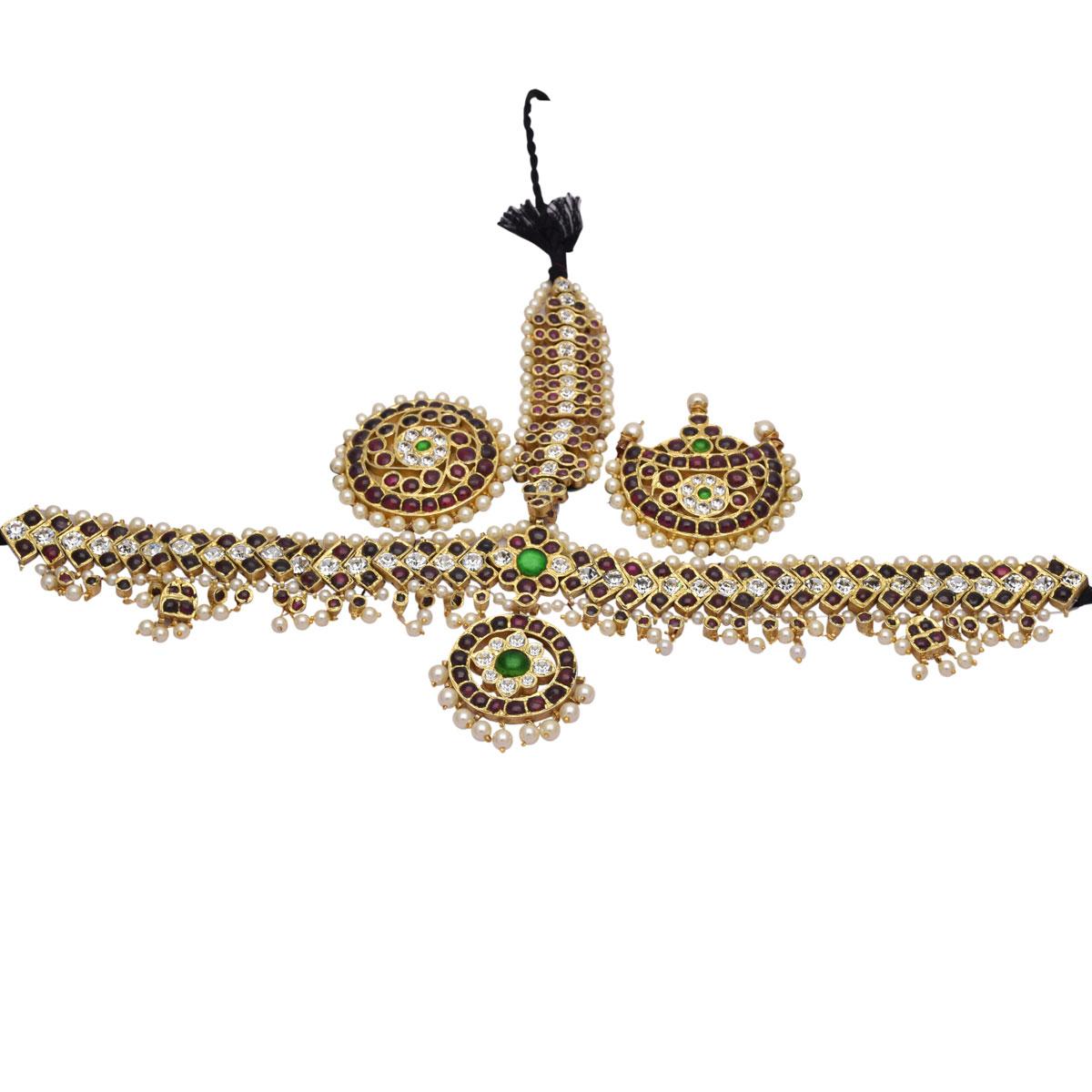 Temple Jewellery Head Set