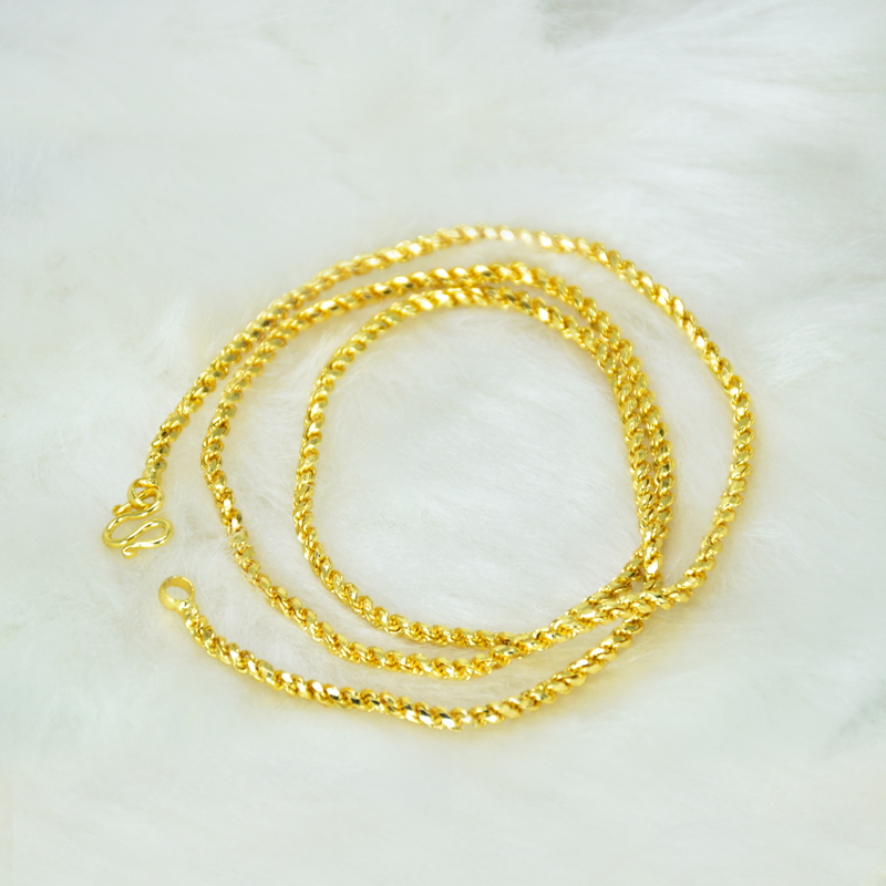 Gold Plated coir chain