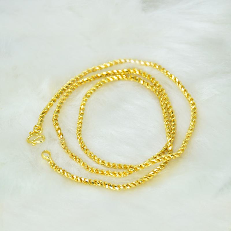 Gold Plated coir chain