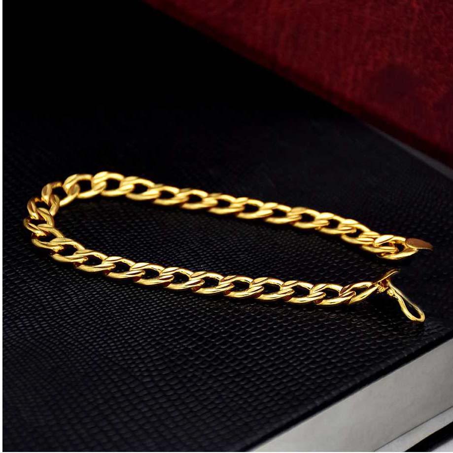 Gents gold plated bracelets
